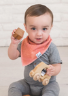 Copper Pearl: Bib Set - bison