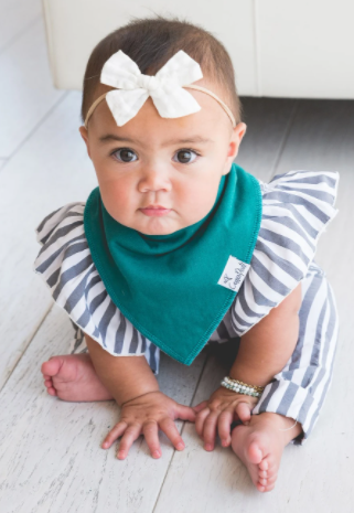 Copper Pearl: Bib Set - jade