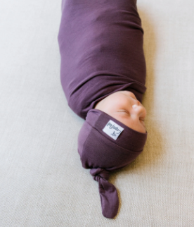 Copper Pearl: Swaddle - plum