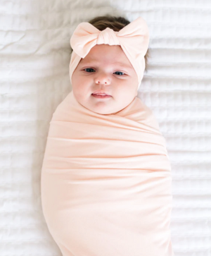 Copper Pearl: Swaddle - blush