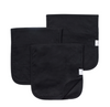 Copper Pearl: Burp Cloth Set - black