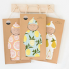Milkbarn Gown & Hat Set - giraffe