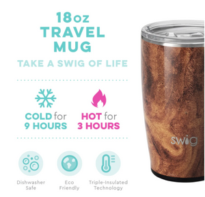 Swig: 18oz Mug- Black Walnut