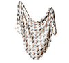Copper Pearl: Swaddle Blanket- bison