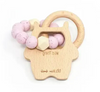 Wild Thing Teething Rattle