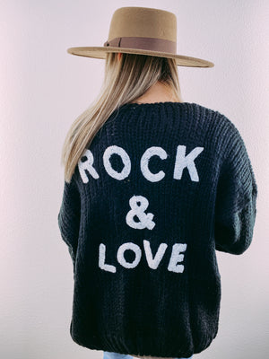 Rock & Love Sweater Cardigan