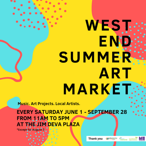 West End Summer Art Market Vancouver
