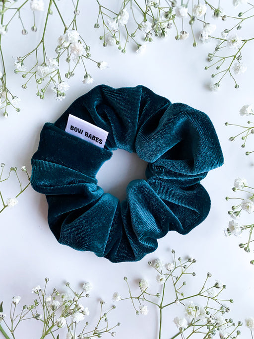 emerald green everyday scrunchy