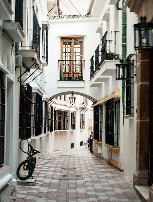Spanish Walkways Photography Print by Kim Legler