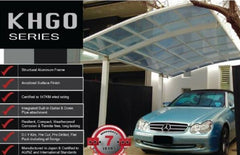 A carport won't just be a benefit for the car owner - a cantilever carport kit now available