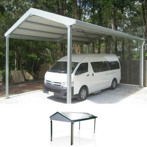 Gable carport The A to Z of carports for your home - Solar to Dutch Roof carports