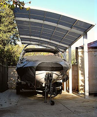 Cantaport for a boat shelter - Car Covers and Shelter