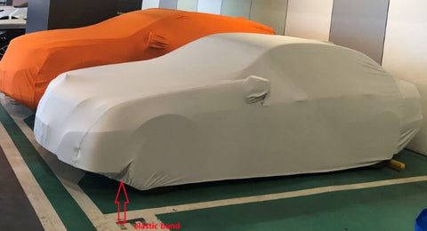 hug-fitting custom made car cover by Car Covers and Shelter