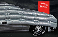 HailSuit protection front of car with HailSuit - from Car Covers and Shelter