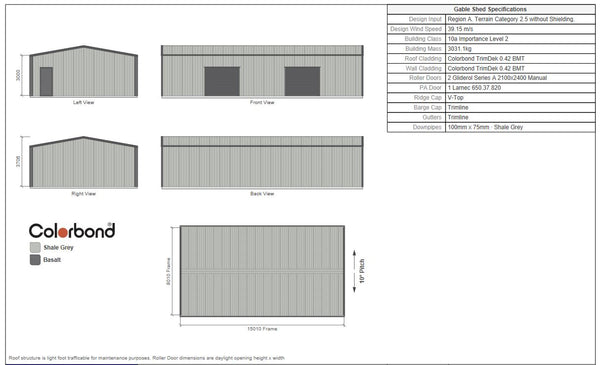 Large shed - Professional Choice for $15,100