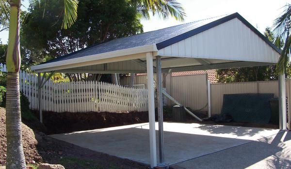 Gable Carports With Infill Diy Car Covers And Shelter