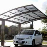 Cantilever single carport round by Cantaport Car Covers and Shelters