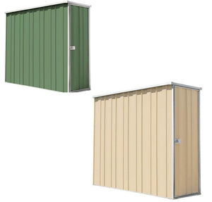The F26-S garden shed green and cream - Car Covers and Shelter