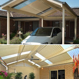 Traditional Gable Carport or patio by Lysaght - Car Covers and Shelter