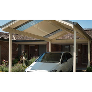 Traditional Gable Carport by Lysaght Car Covers and Shelter
