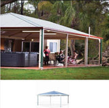 Hip Roof pergola by Lysaght Car Covers and Shelter