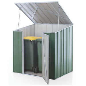 S43 utility shed for wheelie bins, pool pumps or storage. Car Covers and Shelter