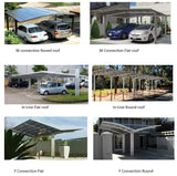 Canilever carport or patio awning connection kits by Cantaport - Car Covers and Shelter