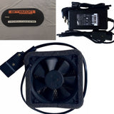 Fan and DC adapter and air vent Car Bubble - Car Covers and Shelter