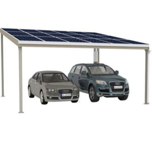Solar carport double bay - Car Covers and Shelter