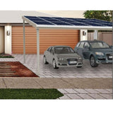 Double bay solar carport - Car Covers and Shelter