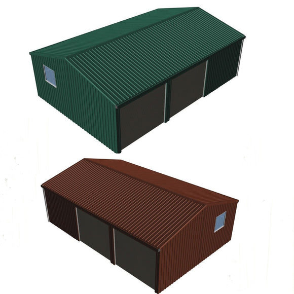 double garage with workshop kit Car Covers and Shelter