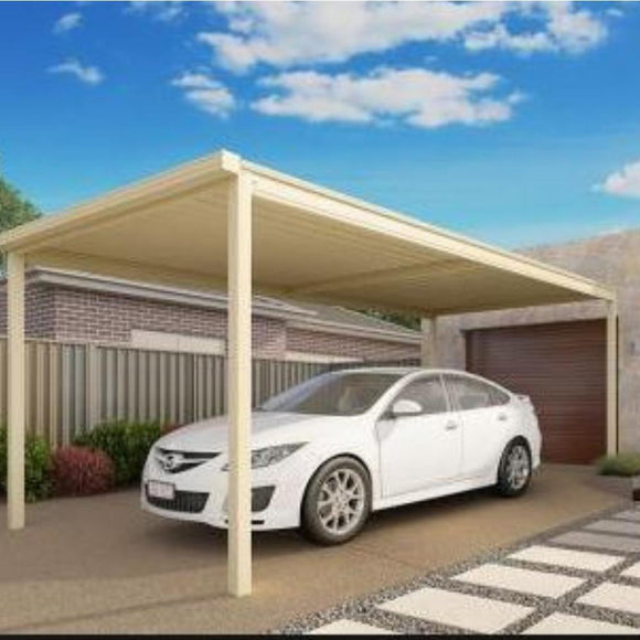 Carport DIY single Lysaght- Carport Car Covers and Shelter