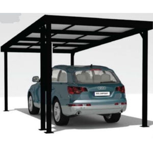 single solar carport - Car Covers and Shelter