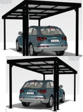 Solar Carport single - Car Covers and Shelter