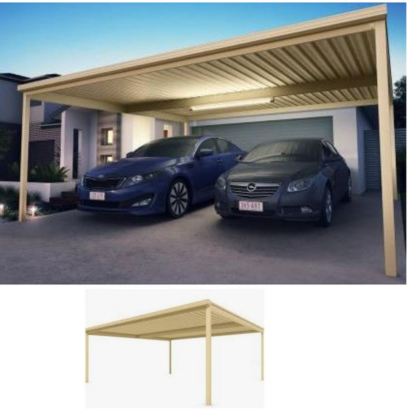 Carport DIY double Lysaght- Carport Car Covers and Shelter