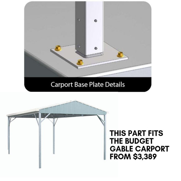 slab attachment kit - Car Covers and Shelter
