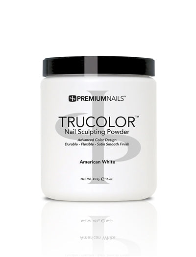 American White - TRUCOLOR Nail Sculpting Powder