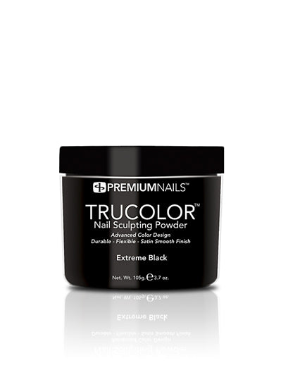 Extreme Black - TRUCOLOR Nail Sculpting Powder