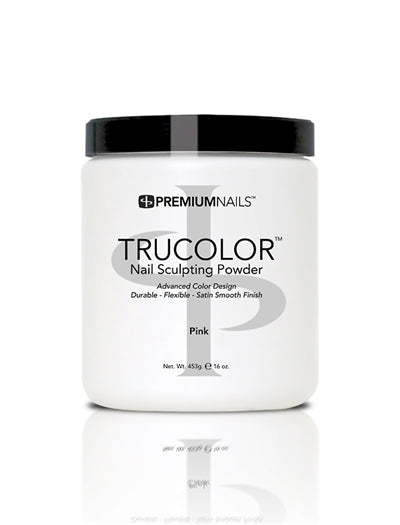 Pink - TRUCOLOR Nail Sculpting Powder