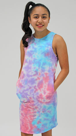 Sundown Tie Dye Dress