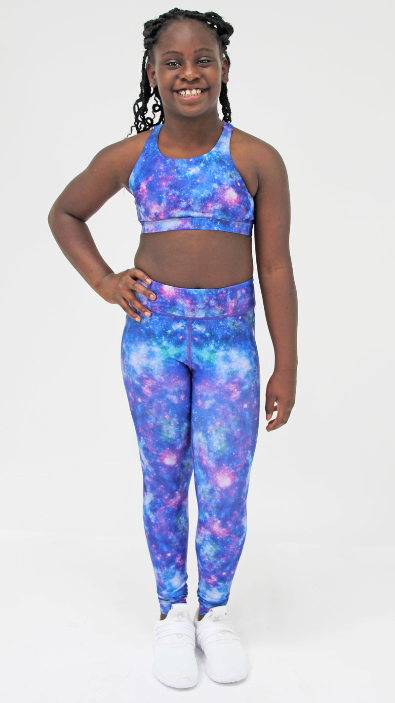 Purple Galaxy Legging