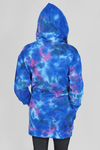 Galaxy Tie Dye Hoodie Dress