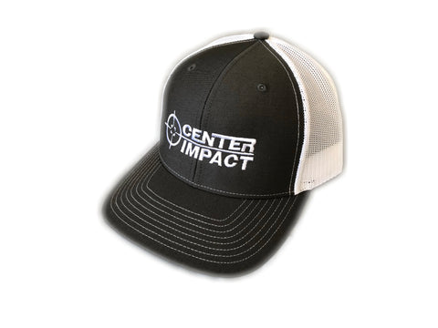 Center Impact Snap Back Hat (Dark Gray)