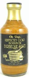 Ole Ray's Kentucky Gold Bourbon Barbeque Sauce