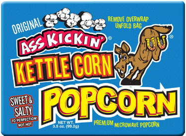 Ass Kickin' Microwave Kettle Corn Popcorn