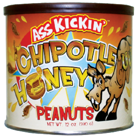 Ass Kickin' Chipotle Honey Peanuts
