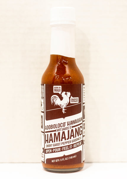 Adoboloco Hamajang Smoky Ghost Pepper Hot Sauce