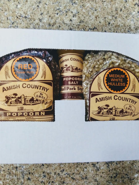 Amish Country Popcorn 2 Variety Gift Pack