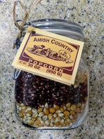 Amish Country Popcorn Multi-Kernel Mason Jar
