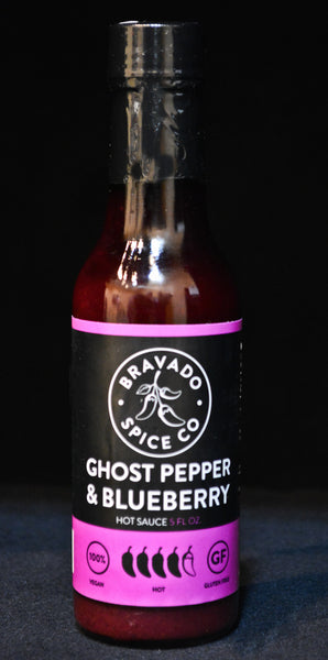 Bravado Spice Company Blueberry & Ghost Pepper